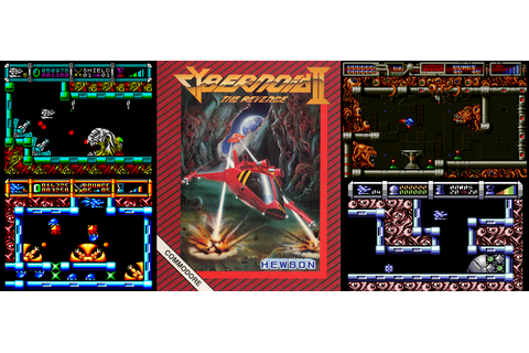 FRGCB - Finnish Retro Game Comparison Blog: Cybernoid ...