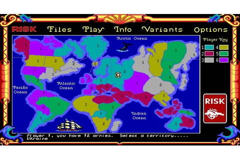 Download Risk: the World Conquest Game strategy for DOS ...