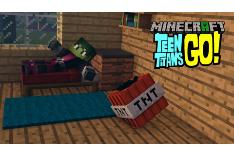 Minecraft intro template Teen Titans GO! | Minecraft