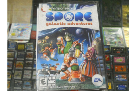 PC Spore Galactic Adventures Pc GAME New Sealed | eBay