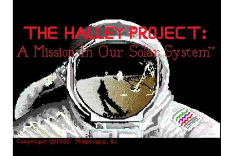 """Station Amiga"" song (1986) for The Halley Project - YouTube"