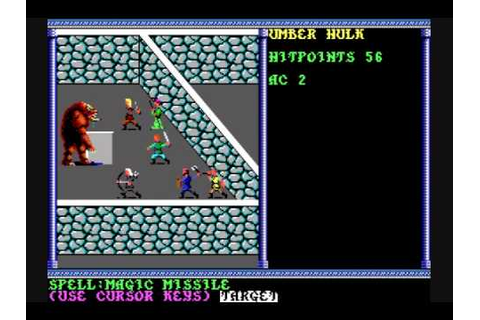 Review of AD&D Secret of the Silver Blades - YouTube