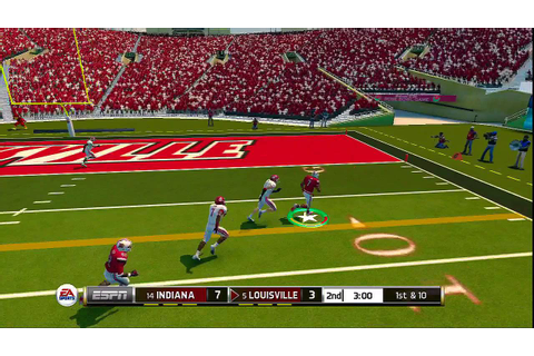 NCAA Football 14 Road To Glory - Rose Bowl Game Louisville ...