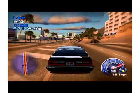 Ford Mustang: The Legend Lives (PS2) Gameplay - Time Trial ...