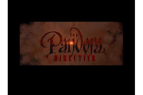 Pandora Directive, The Download (1996 Adventure Game)