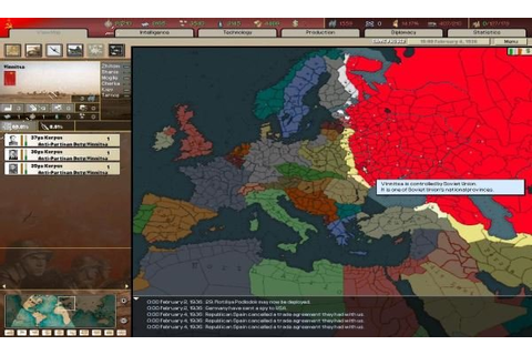 Hearts of Iron 2 PC Game - Free Download Full Version
