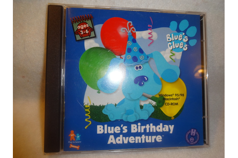 Free: BLUE'S CLUES BIRTHDAY ADVENTURE COMPUTER CD GAME ...
