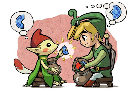 /Minish Cap/#175539 - Zerochan | The Legend of Zelda: The ...