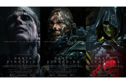 DEATH STRANDING ALL Trailers | PS4 Upcoming Video Game ...