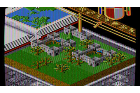 Populous (SNES) - YouTube