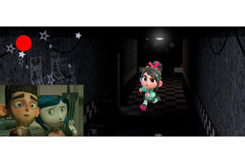 Coraline and Norman Play Five Nights at Sugar Rush by ...