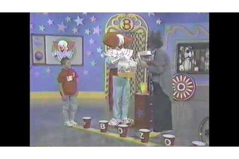 Kevin on the Bozo Show - YouTube