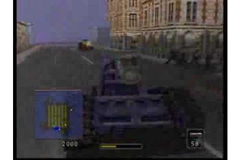 BattleTanx Global Assault (N64) Tank Wars on Crossfire ...