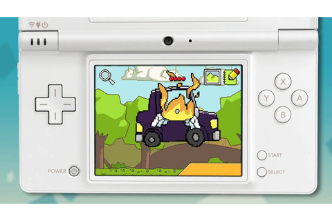 Super Scribblenauts Nintendo DS [HD] video game trailer ...