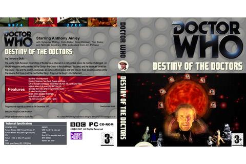 Doctor Who Fan Story Edits and Artwork: Destiny of the ...
