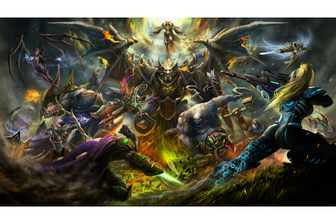 Heroes Of The Storm Battle Video Game Skin Art Wallpaper ...