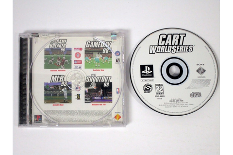 CART World Series game for Playstation | The Game Guy