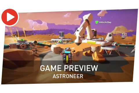 Astroneer - Game Preview tráiler de lanzamiento - YouTube