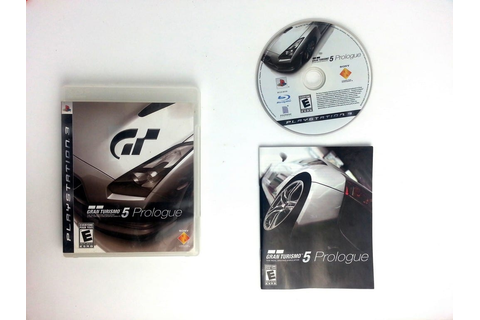 Gran Turismo 5 Prologue game for Playstation 3 (Complete ...