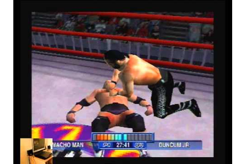 Lets Play WCW Mayhem For The PS1 Classic Retro Game Room ...
