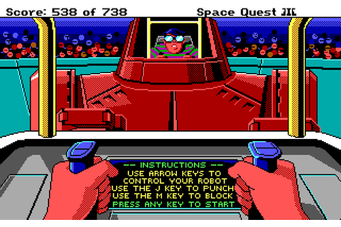 Space Quest III: The Pirates of Pestulon (1989) - Game ...
