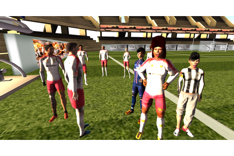 Second Life Play Instinct: VE-Soccer. A football video ...
