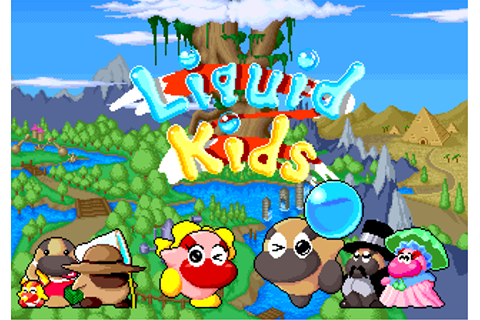Liquid Kids - Videogame by Taito