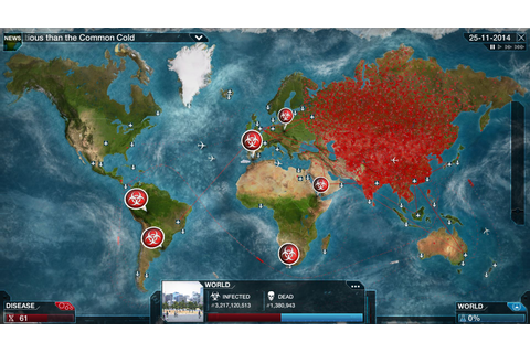 "Plague INC. With a New Game Mode to ""Save The World From ..."