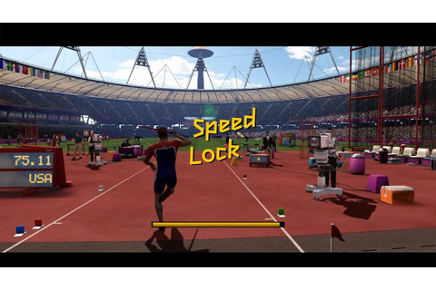 London 2012 The Official Video Game - Mens Javelin Throw ...
