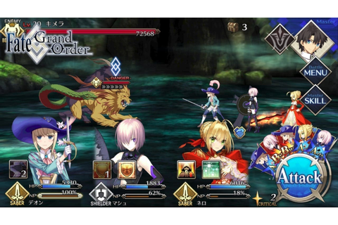Fate/Grand Order – English version arriving in North ...