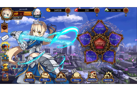 Saber And Excalibur android game first look gameplay ...