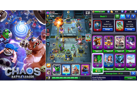 Chaos Battle League Clash Royale-like game for Android and ...