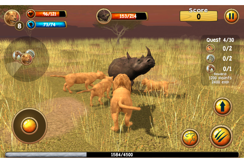 Wild Lion Simulator 3D – Android-Apps auf Google Play