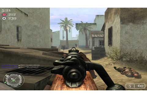 Call of Duty 2: TDM - Toujane Tunisia | First game after a ...
