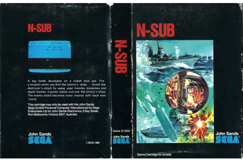 N-Sub (SEGA) | 80'S Top Games