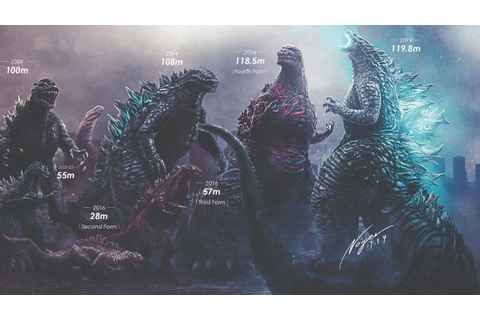 'Godzilla' Size Chart Shows How Much the 'King of Monsters ...