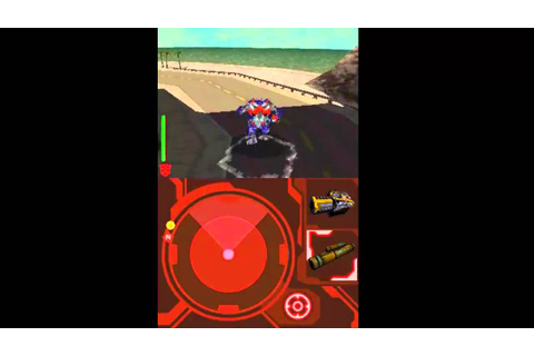 Transformers Revenge of the Fallen Autobots DS gameplay ...