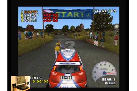 Lets Play V Rally 2 For The PS1 Classic Retro Game Room ...