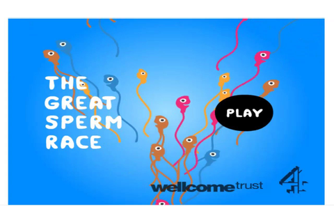 The Great Sperm Race! Gameplay#1 - YouTube