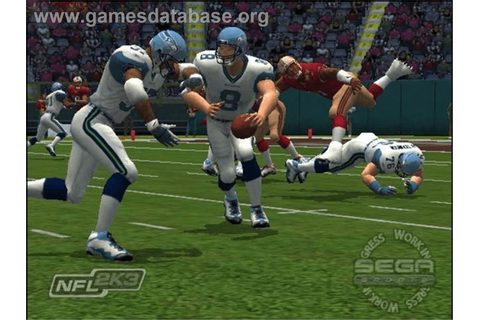 NFL 2K3 - Microsoft Xbox - Games Database