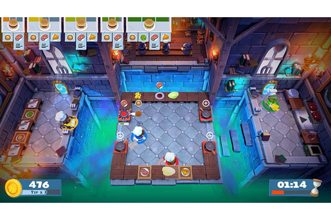 The Hilarious Cooking Party Game Overcooked Gets a Sequel
