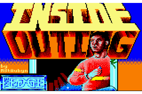 Inside Outing (1987) by The Edge Amstrad CPC game