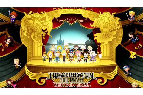 Theatrhythm Final Fantasy Curtain Call Remix Selections CD ...