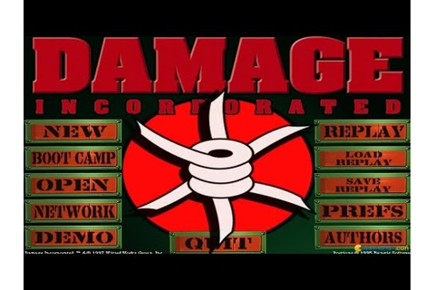 Damage Incorporated gameplay (PC Game, 1997) - YouTube