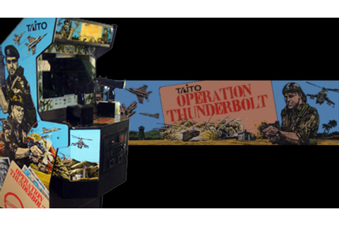 Operation Thunderbolt Arcade (1988) Playthrough! - YouTube