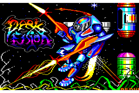 Dark Fusion (1988) by Gremlin Graphics Amstrad CPC game