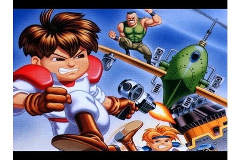 CGRundertow GUNSTAR HEROES for Sega Genesis Video Game ...