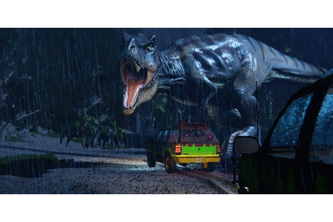 Amazing Jurassic Park Game Demo Brings T-Rex To Life ...