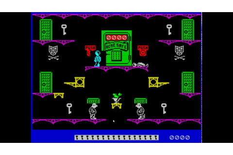 Moonlight Madness (Bubble Bus Software, 1986, ZX Spectrum ...