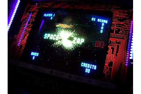 Space Zap Arcade Game (1980 Midway Mfg.) - Overview ...